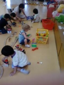 Toddler Play Area at The Tokyo Metropolitan Children's Hall
