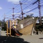 Pirate Boat Playground Tokyo Japan