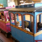 Fun on Kiddie Train at Kameido Sun Street